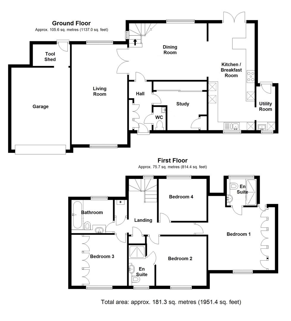 Mill Lane, Burwell, Cambridge, Burwell floorplan